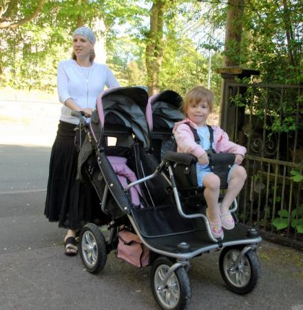 T3 Triple Pushchair Buggy With Toddler Seat